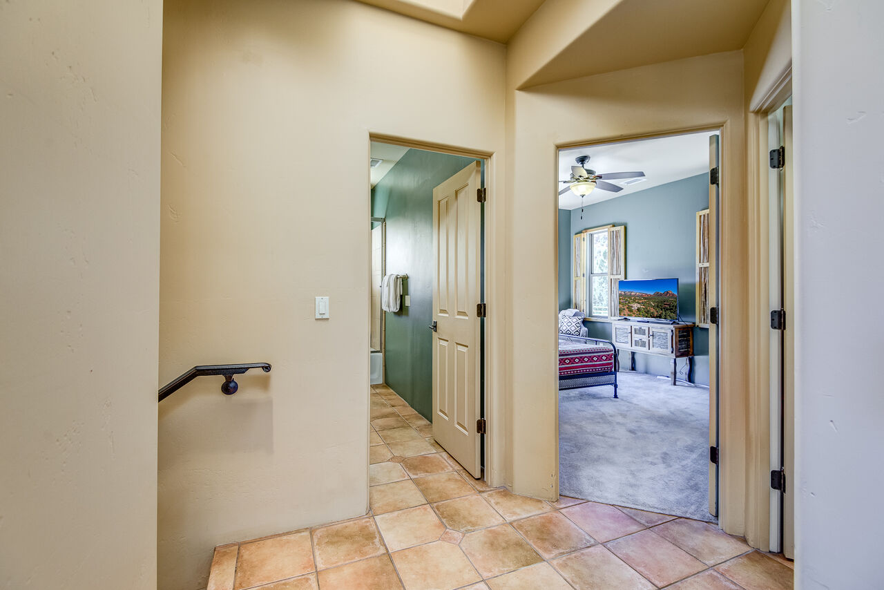 Upper Level Bedrooms and Full Shared Bath