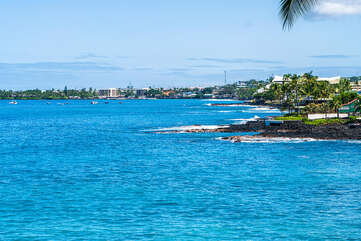 View looking North into Kailua-Kona