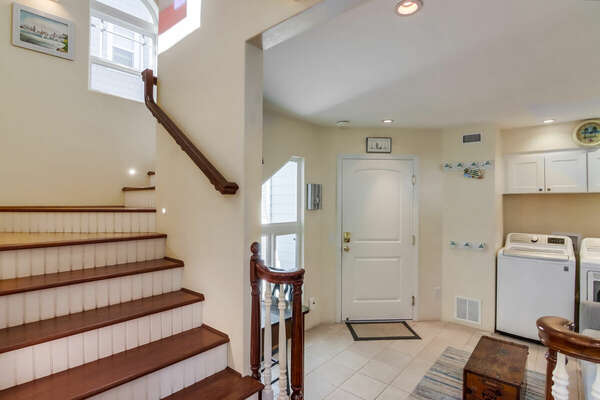 Stairwell to Entry Level