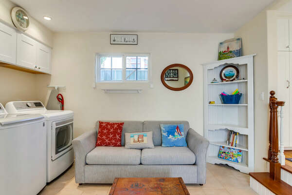 In-Home Washer/Dryer + Secondary Hangout Space - First Floor