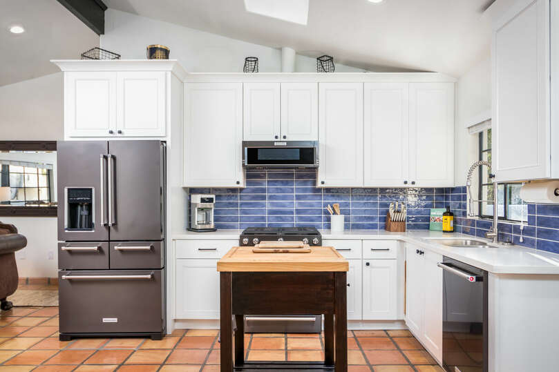 Modern kitchen includes all amenities you'll need.