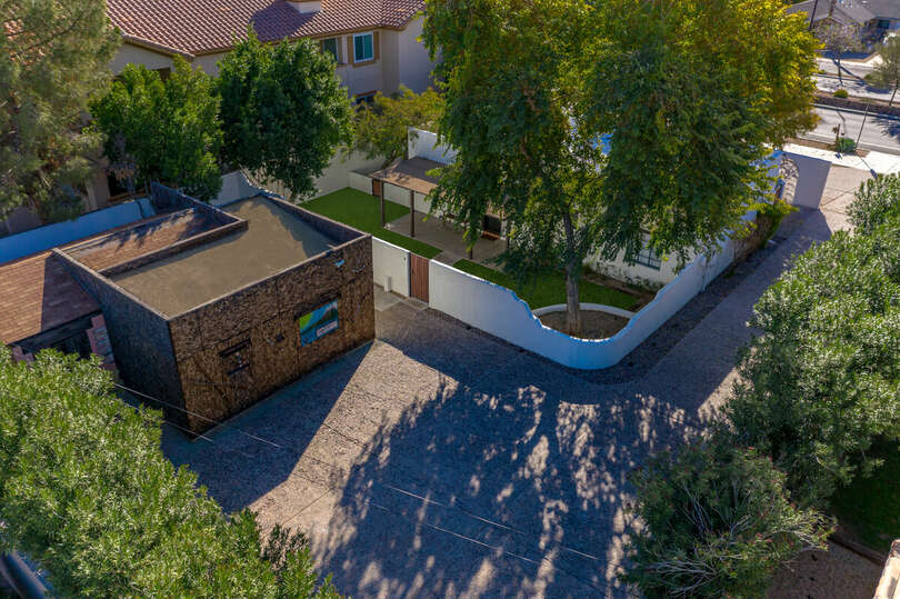 Private driveway with a luxurious yard, lawn games, hot tub, lounging, and, heating.