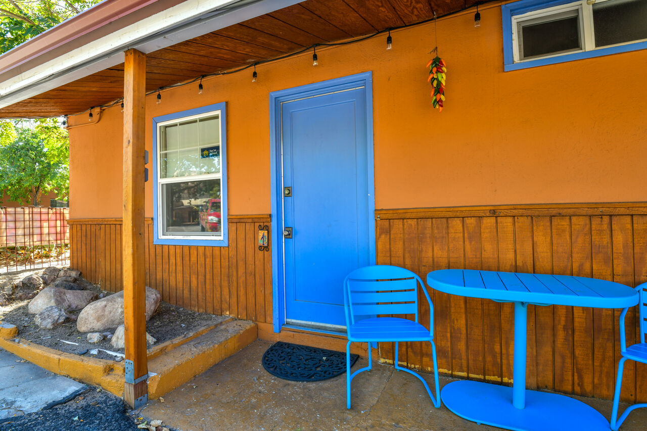 Exterior Patio of the vacation rental
