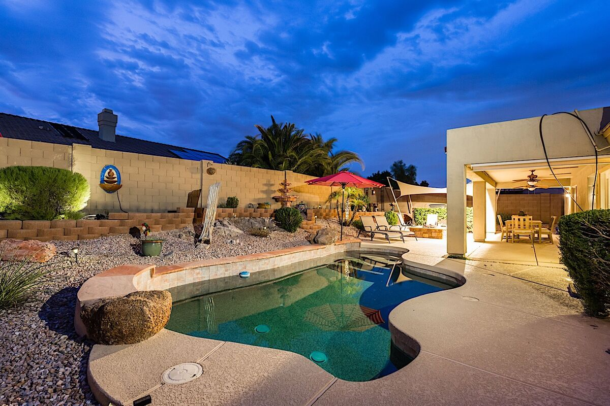 Great outdoor space for entertaining