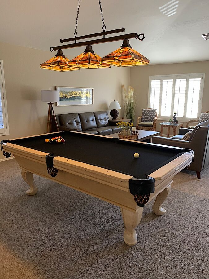 Brand new pool table!