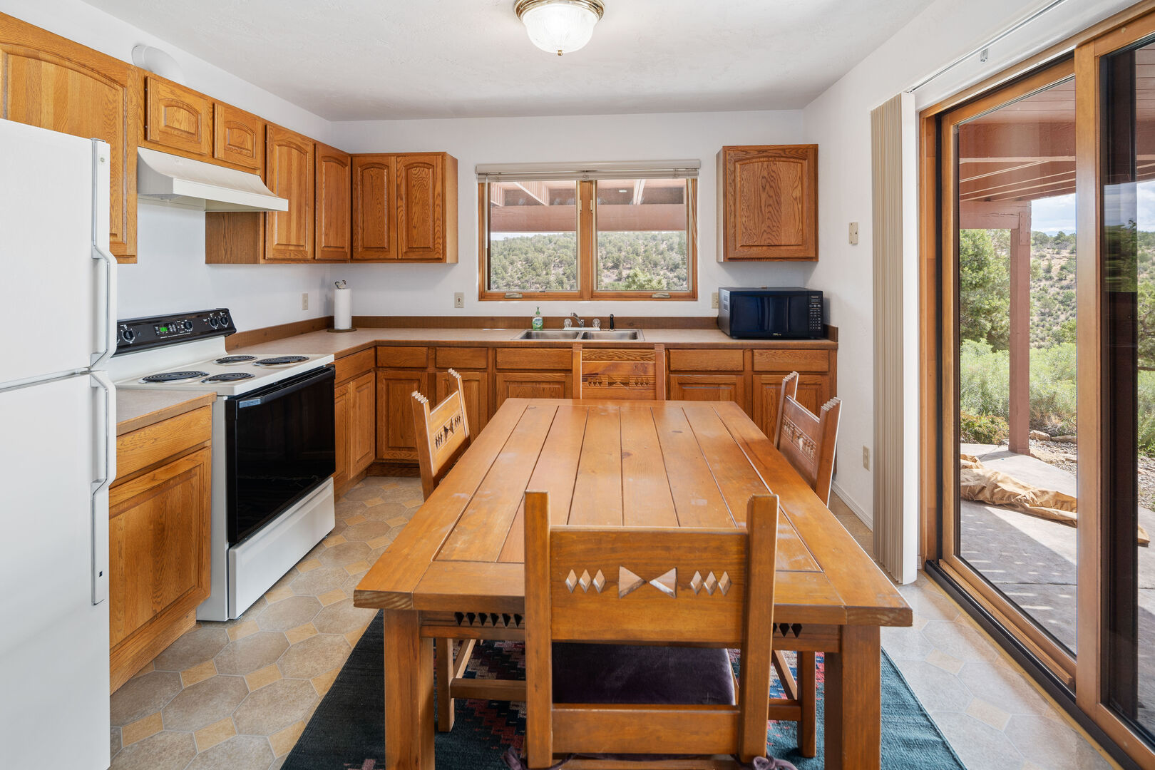 Small kitchen  - lower level