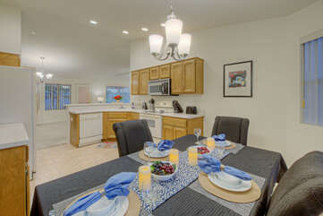 Welcome to SUNLAND SPRING TIME, a 3 BR, 2 BA single story home with a golf course view!