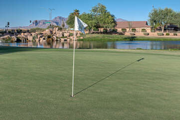 Sunland Springs Public Golf Course views will impress our golf lovers.