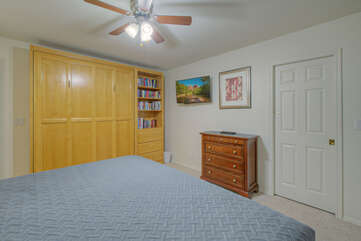 Bedrooms are spacious and offer ample closet space for your wardrobe and accessories.
