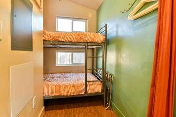 Bunk Beds near window in unit