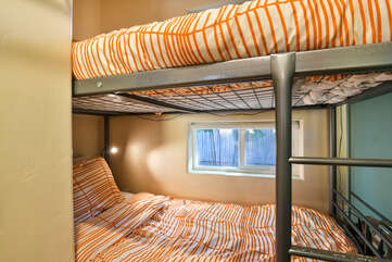 Bunk Beds with nearby window