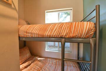 Bunk Beds near window
