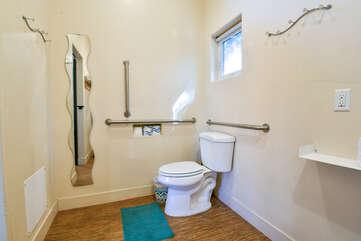 Bathroom in our Kokopelli West #1 unit.