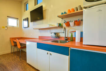 Another view of the kitchenette in Kokopelli West #1.