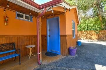 Exterior of our Moab Utah rental
