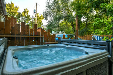 Shared Hot Tub at Moab Places to Stay