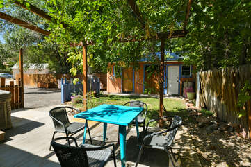 Exterior - Shared Dining Area at Moab Places to Stay