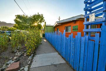 Exterior Fence Surrounding Kokopelli Inn Towner #4