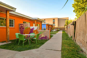 Shared Yard at Moab Vacation Rental