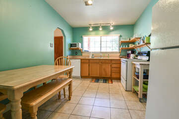 Kitchen and Dining Area at Moab Vacation Rental