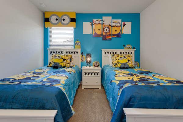 Kids will love this mischievous room
