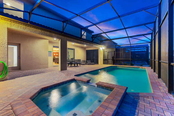 Cool off in your own private pool