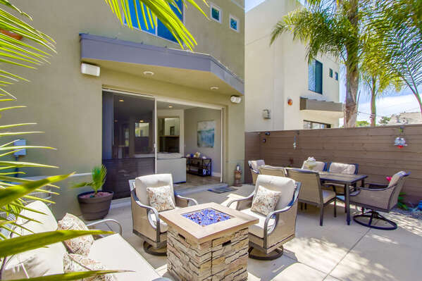 Spacious Back Patio is Great for Entertaining.