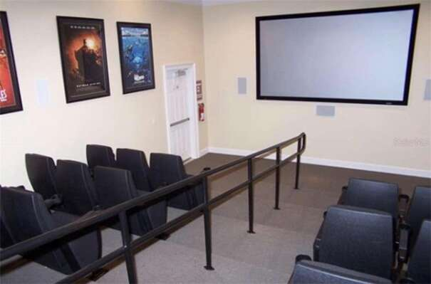 30 seat theater room