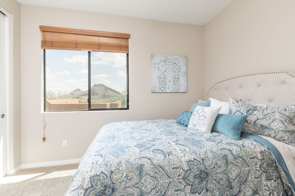 Magnificent views of the mountains from your bedroom window