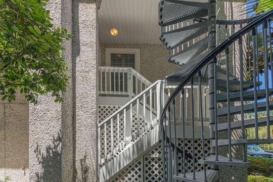 Outdoor Stairways.
