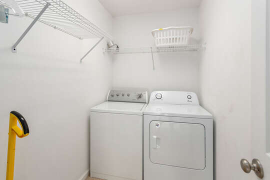 Laundry Room with Washer and Dryer.