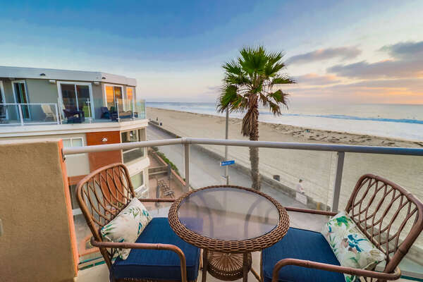 Patio off of Dining Area of this Vacation Rental Near San Diego & Kitchen
