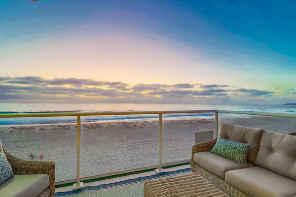 Front Deck of this Vacation Rental Near San Diego