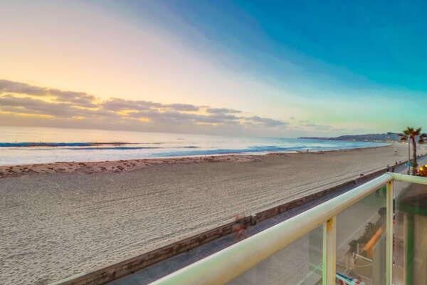 Deck Views of the beach