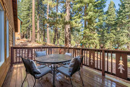 Front Deck with Forest Views