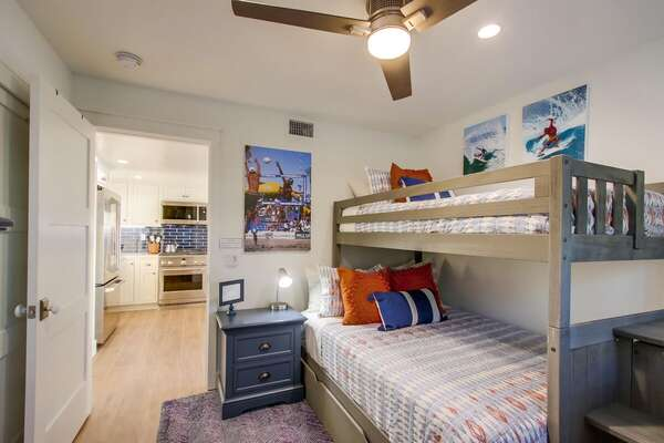 Bunk Room- Full/Twin Bunk + Twin Trundle