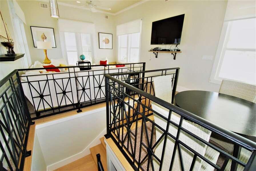 Top floor lookout room