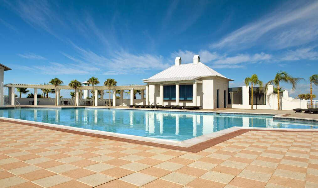 Shores' community swimming pool