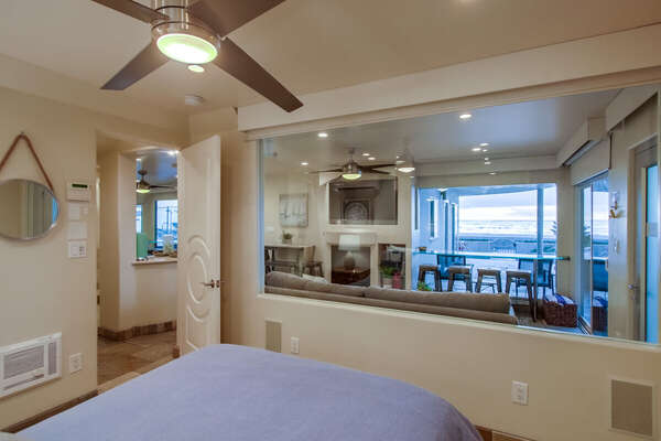 Image of Master Bedroom Views.