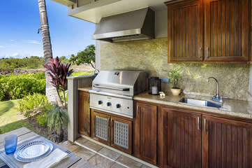 Private BBQ on your lanai