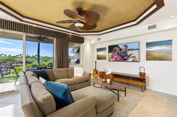 Living area with comfortable furnishings and relaxing views
