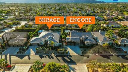 Vacay Stay represents Mirage and Encore right next door to each other for larger gatherings that need 2 houses