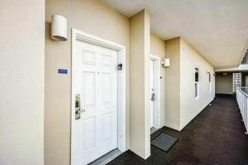 Unit entryway