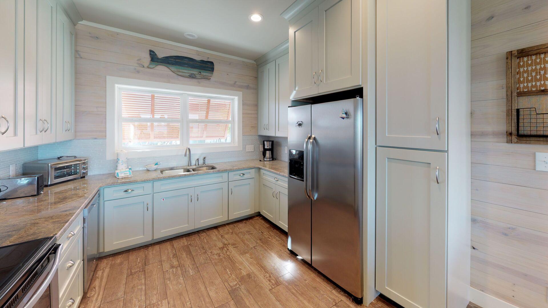 Extra large kitchen