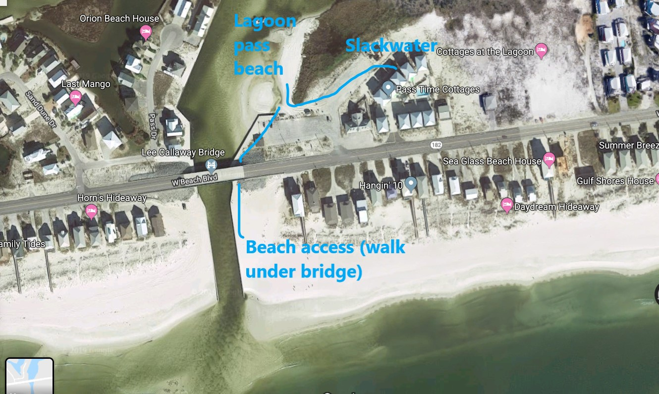 Easy access to two beaches!