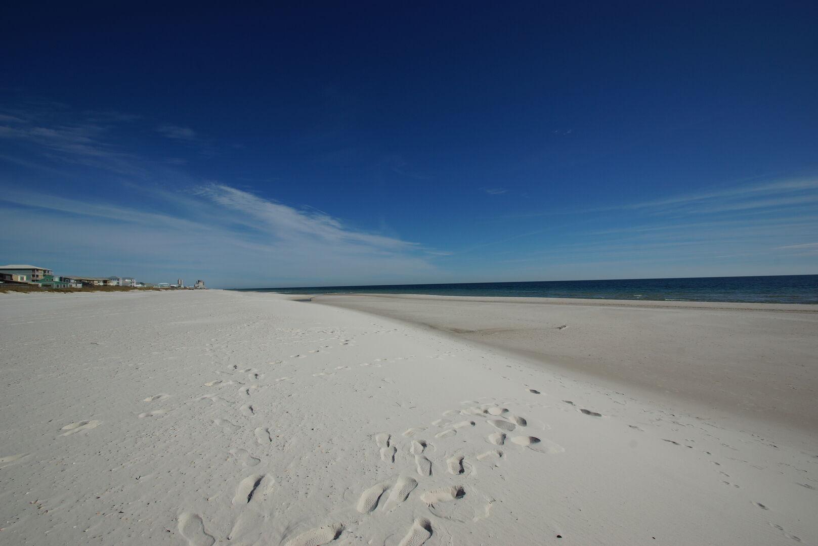 Gorgeous Fort Morgan beach!