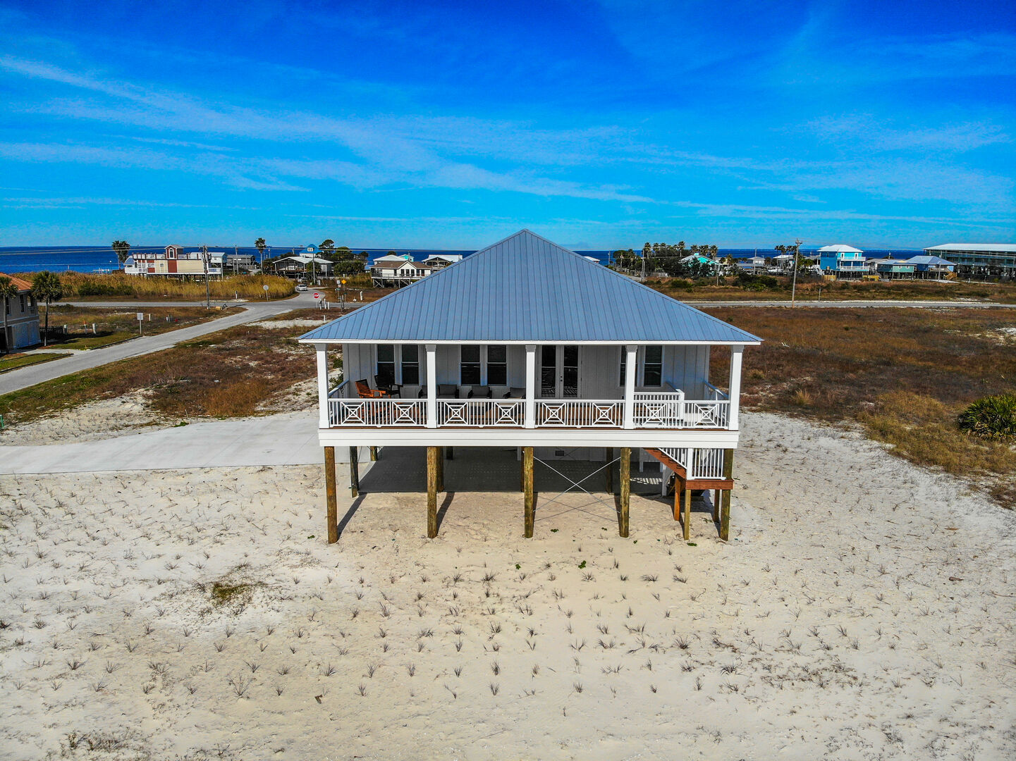 View of this Gulf Shores cottage rental