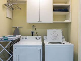Washer/Dryer on first level