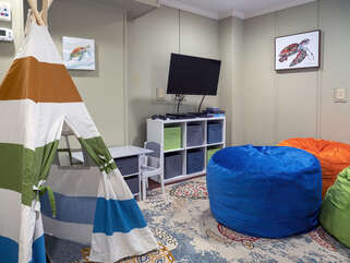 First level playroom