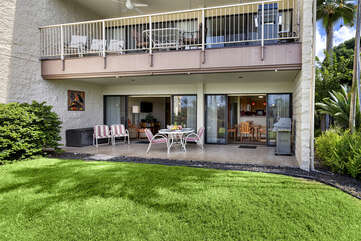 Ground floor unit with Large lanai
